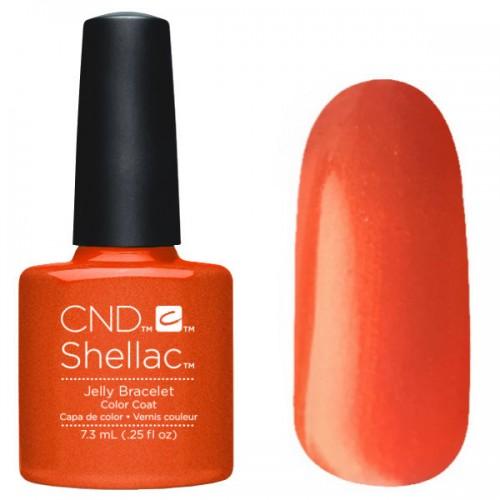 Cnd shellac jelly bracelet на ногтях